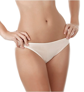 Felina So Smooth Low Rise Bikini Panties - 3 Pack
