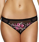 Claudine Embroidered Bikini Panty