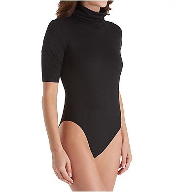 Felina Body Zone Velvet Touch Bodysuit with Turtleneck