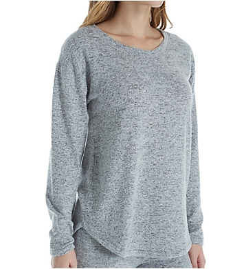 Felina Urban Lounge Victoria Long Sleeve Crew Neck