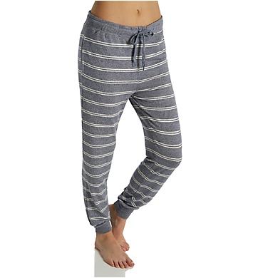 Felina Jenny Slub Knit Stripe Pant