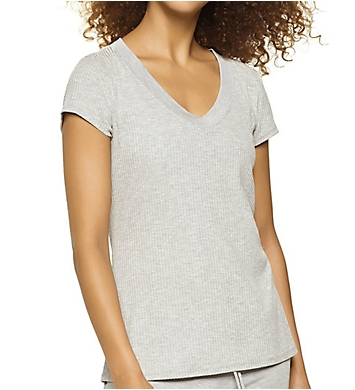 Felina Elements Rib V-Neck Tee