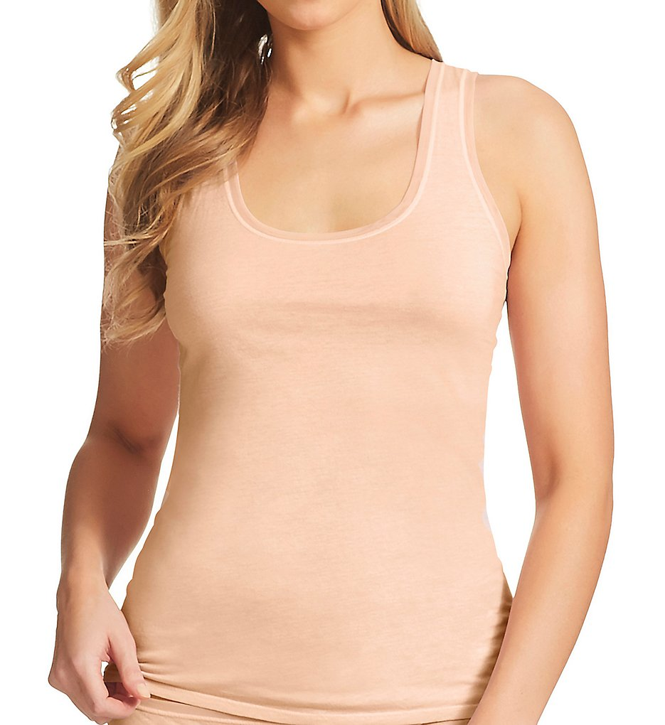 eba5b8192a3 fine lines Pure Cotton Wide Strap Rounded Neck Camisole 13RTS34 ...