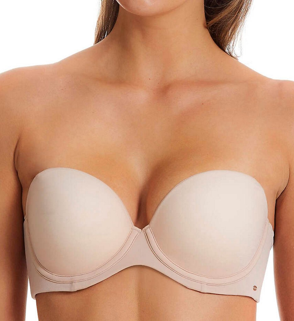 fine lines >> fine lines ME014 Memory Strapless 4 Way Convertible Bra (Honey Lust 32B)