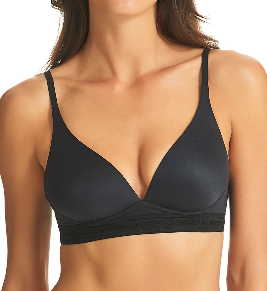 fine lines >> fine lines SO013 Supersoft Wirefree Bra (Black 32B)
