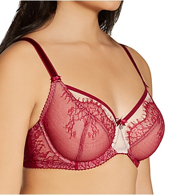 Fit Fully Yours Ava See-Thru Lace Underwire Bra