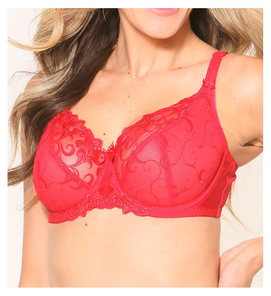 Fit Fully Yours B2536 Joyce See Thru-Lace Bra