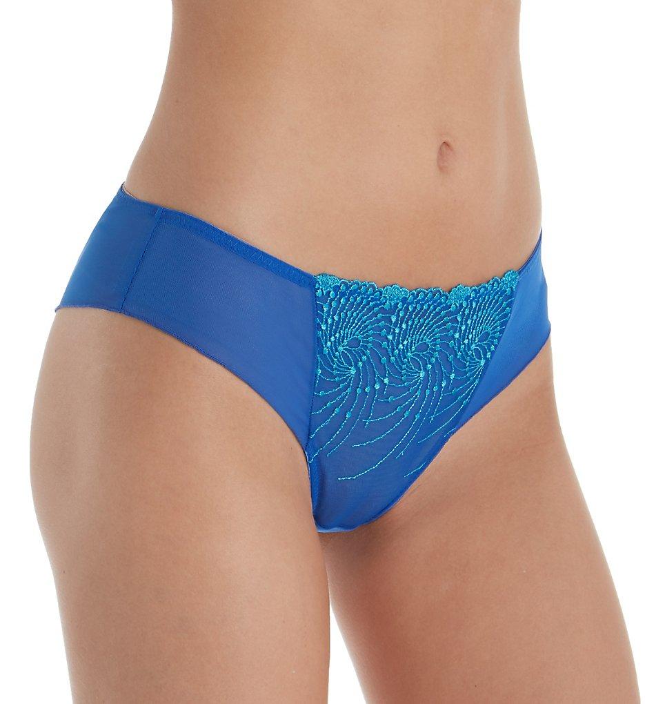 Fit Fully Yours U2275 Nicole Tanga Panty (Aqua Blue Green)