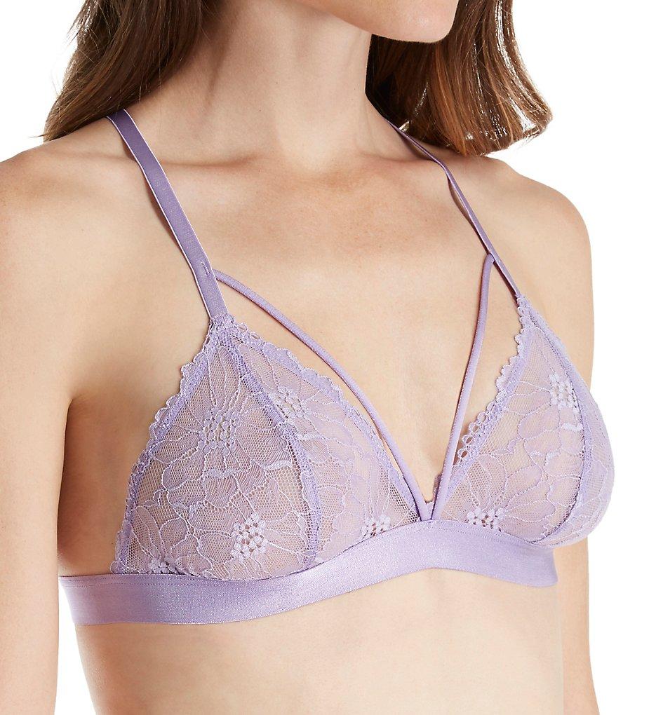 Fleur't - Fleur't 2143 Lacy Dainties Strappy Bralette (Lavender Mist S)