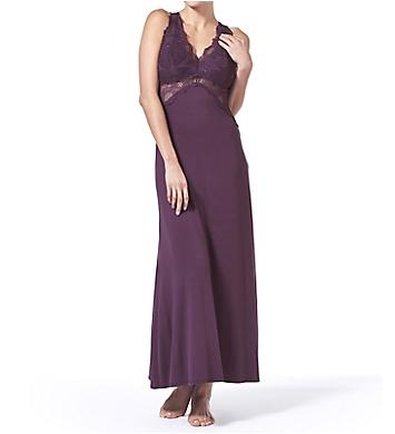 Fleur't Bella Epoque Lace T-Back Long Gown