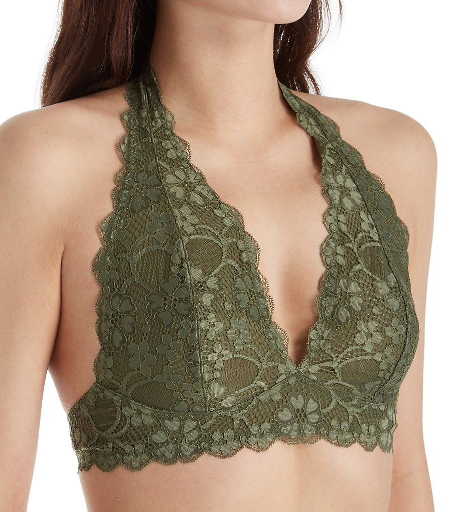 473c669649 Free People 590926 Galloon Lace Halter Bra