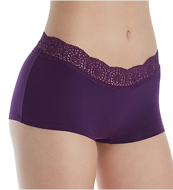 Free People Cotton Medallion Boyshort Panty