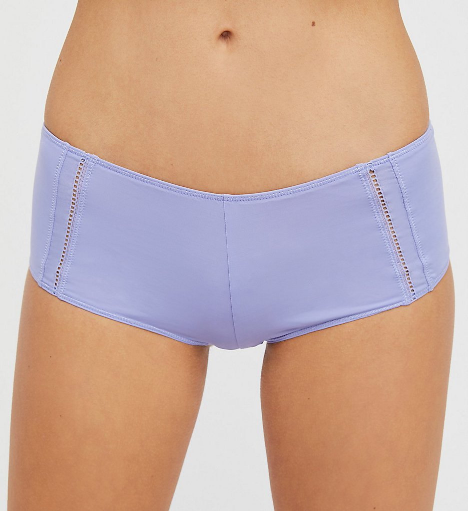 Free People (2219362) - Free People 682873 Truth or Dare Microfiber Boyshort Panty (Light Purple L)
