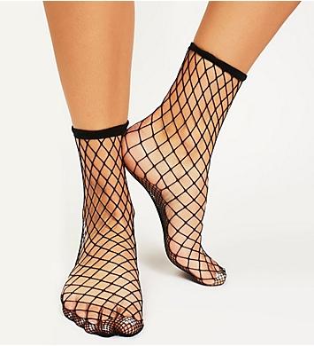 Free People Sugar Sugar Fishnet Ankle Sock