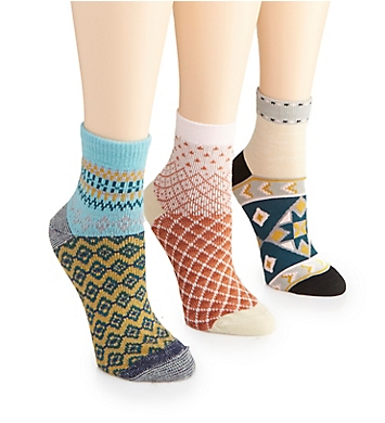 Free People Triple the Fun Ankle Sock - 3 Pack