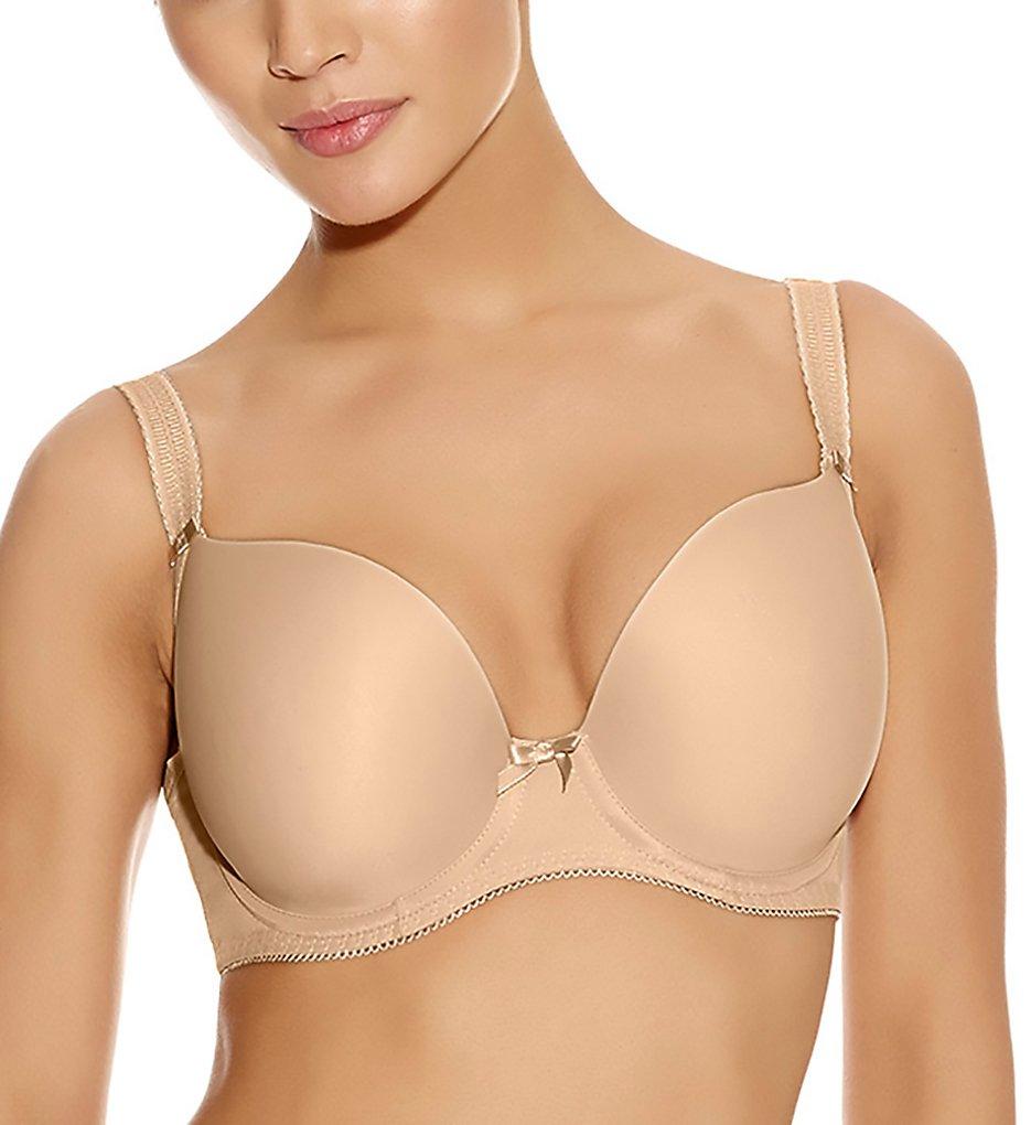 Freya AA4234 Deco Underwire Plunge T-Shirt Bra (Nude)