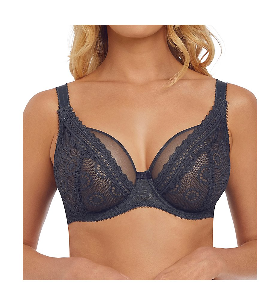 Freya - Freya AA5211 Love Note Underwire High Apex Bra (Slate 28FF)