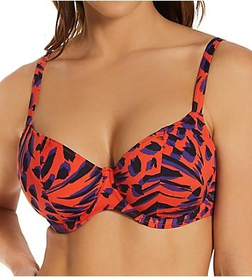 Freya Tiger Bay Underwire Plunge Bikini Swim Top