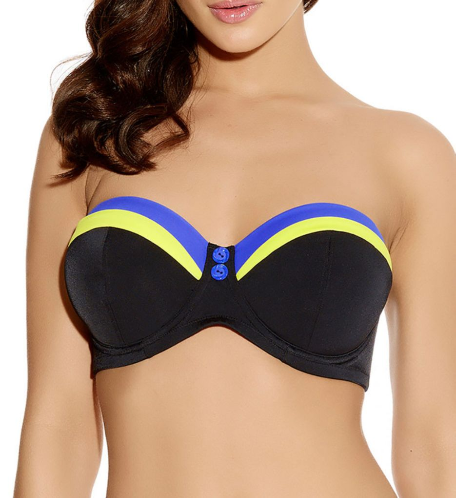 Freya Revival Underwire Bandeau Bikini Swim Top