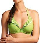 Cherish Underwire Banded Halter Bikini Swim Top