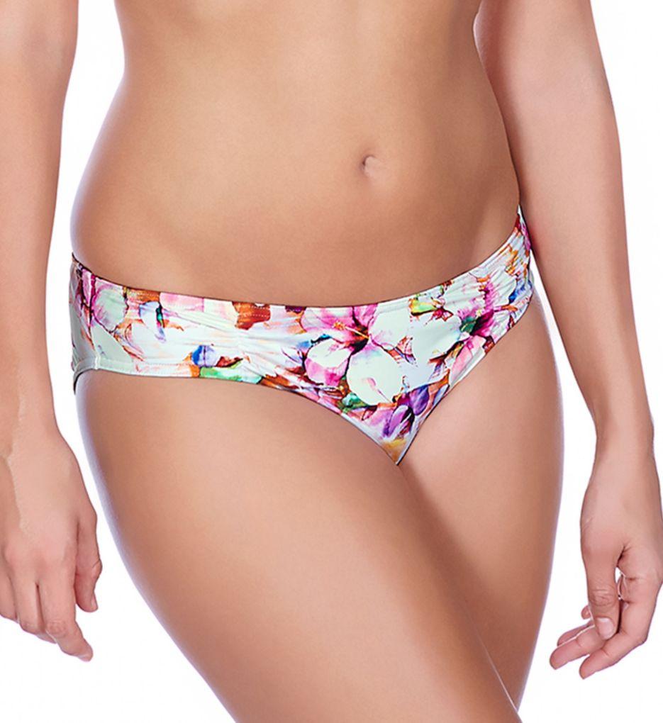 Freya Coral Bay Ruched Hipster Bikini Swim Bottom
