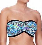Folklore Underwire Bandeau Bikini Swim Top