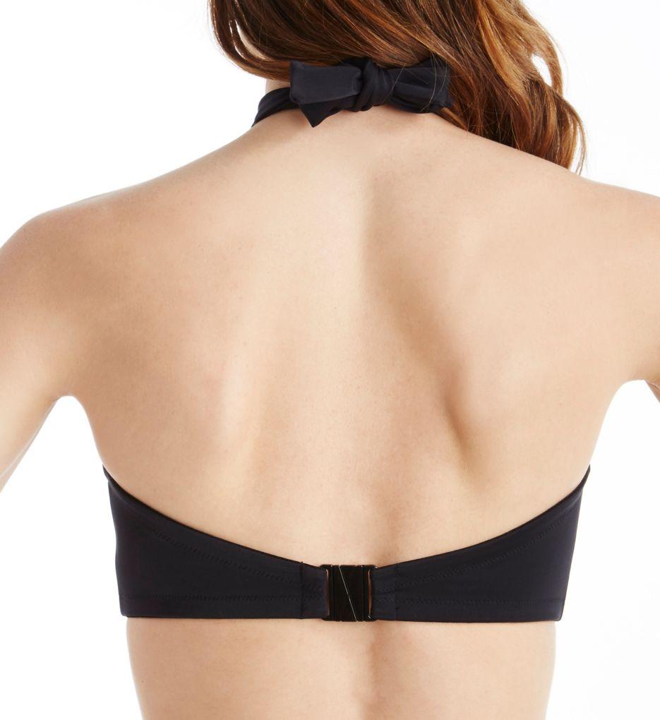 Freya Deco Swim AS3872 W Underwired Multiway Bandeau Bikini Top Violet 36 G