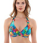 Under the Sea Underwire Banded Halter Swim Top