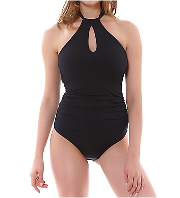 Freya Remix Underwire High Neck One Piece Swimsuit