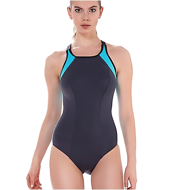 Freya Zoom High Neck Soft Cup One-Piece Swimsuit