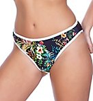 Club Tropicana High Leg Brief Swim Bottom