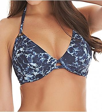 Freya Storm Underwire Bandless Halter Bikini Swim Top