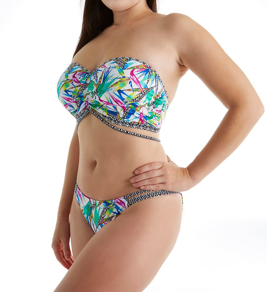 cb8afbb28d4f3 This is the Rio String Side Bikini Brief shown with the above bandeau top  styled as a strapless top. These bikini bottoms are available in sizes XS  to XL ...