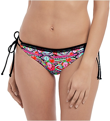 Freya Texas Rose Italini Tie Side Brief Swim Bottom