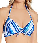 Bali Bay Wire Free Triangle Bikini Swim Top