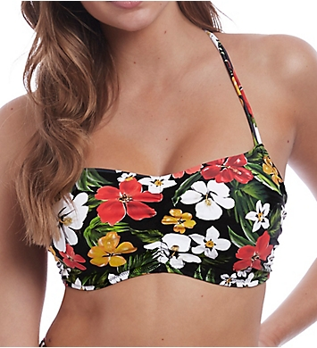 Freya Tiki Bar Concealed Underwire Bralette Swim Top