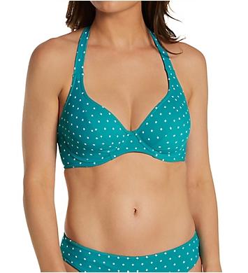 Freya Jewel Cove Underwire Banded Halter Bikini Swim Top