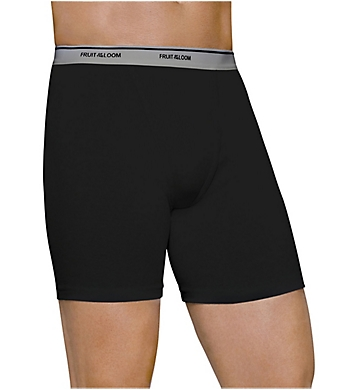 Fruit Of The Loom Mens Core Cotton Boxer Briefs - 3 Pack