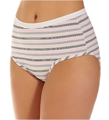 Fruit Of The Loom Ladies Cotton Brief Wardrobe Panty - 3 Pack