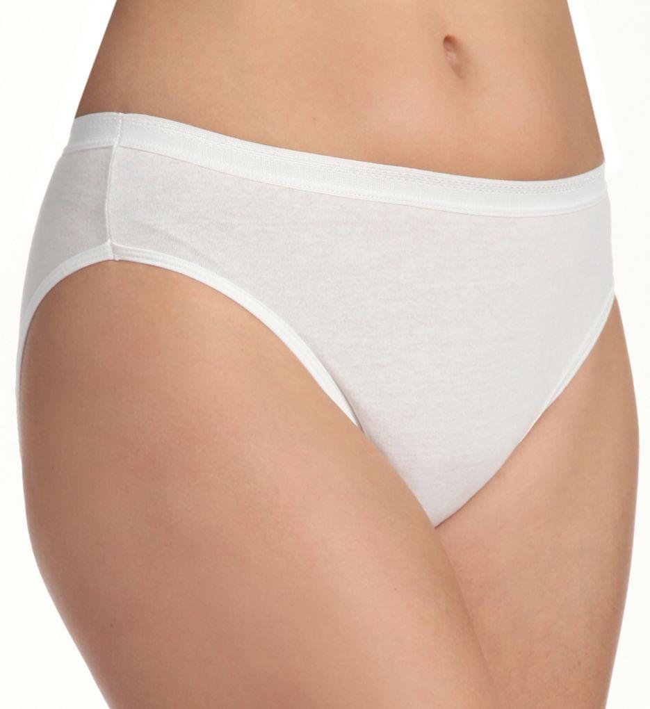 Fruit Of The Loom Ladies' Cotton Hi Cut Panties Multi - 3 Pack