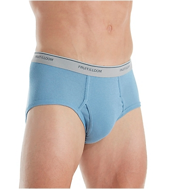 Fruit Of The Loom Assorted Fashion Cotton Briefs - 3 Pack