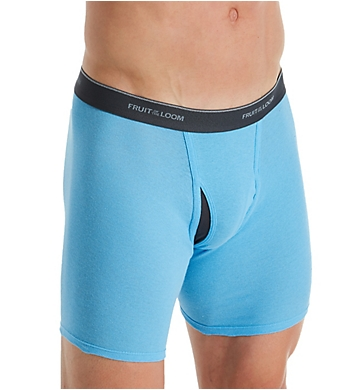 Fruit Of The Loom Coolzone Extended Size Boxer Briefs - 4 Pack