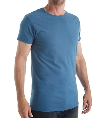 Fruit Of The Loom Stay Tucked Cotton Crew T-Shirt - 4 Pack
