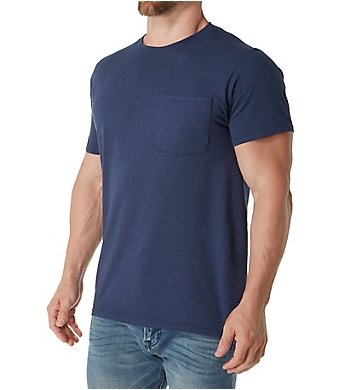 Fruit Of The Loom Big Man Cotton Fashion Pocket T-Shirts - 4 Pack