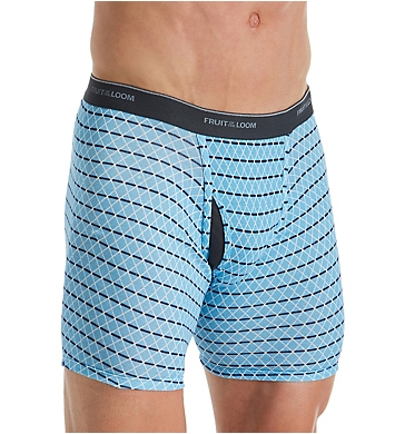 Fruit Of The Loom Coolzone Print Assort Boxer Briefs - 5 Pack