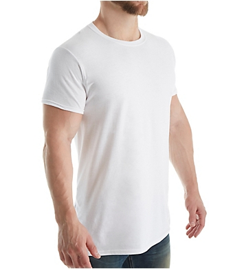 Fruit Of The Loom Stay Tucked Extended Size Crew T-Shirt - 5 Pack