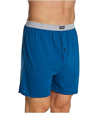Fruit Of The Loom Men's Assorted Cotton Knit Boxers - 5 Pack