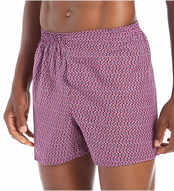 Fruit Of The Loom Core Assorted Woven Boxers - 5 Pack