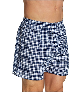 Fruit Of The Loom Assorted Tartan Plaid Woven Boxers - 5 Pack