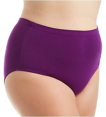 Fruit Of The Loom Fit For Me Cotton Mesh Brief Panties - 6 Pack